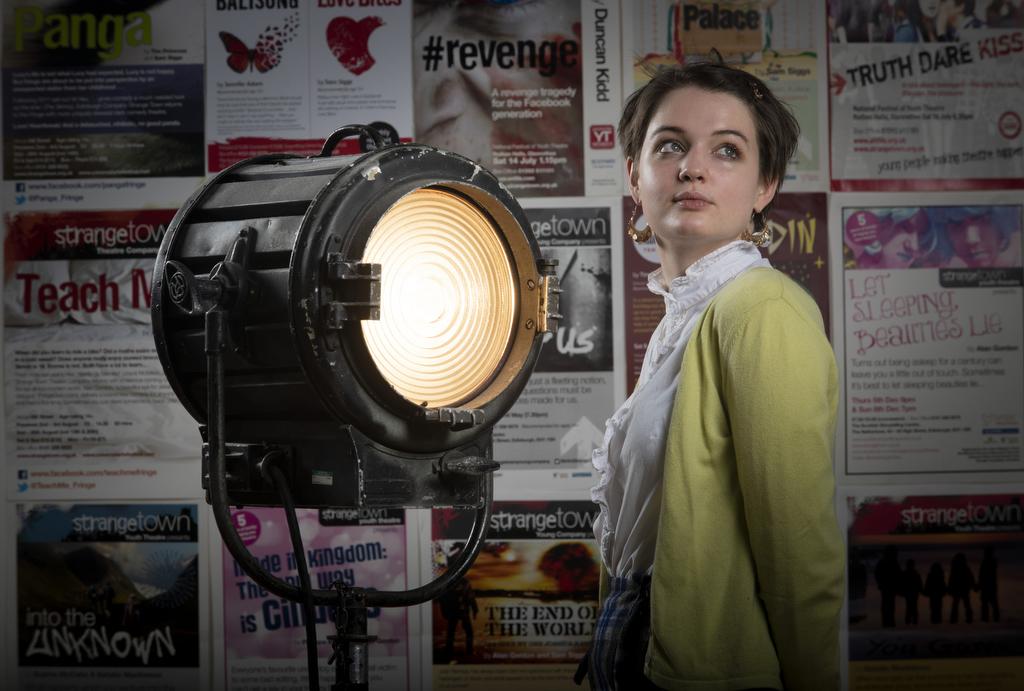 Tallulah Greive as Stephanie in Dr Korczaks Example pic